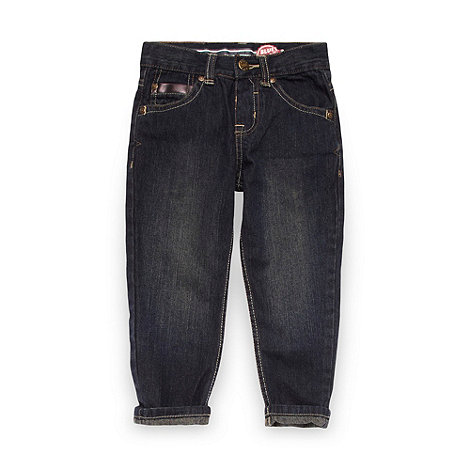bluezoo - Boy+s near black carrot leg jeans