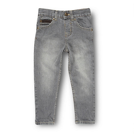 bluezoo - Boy+s grey carrot leg jeans