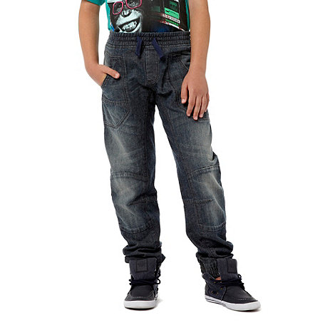 bluezoo - Boy+s blue slim elasticuff jeans