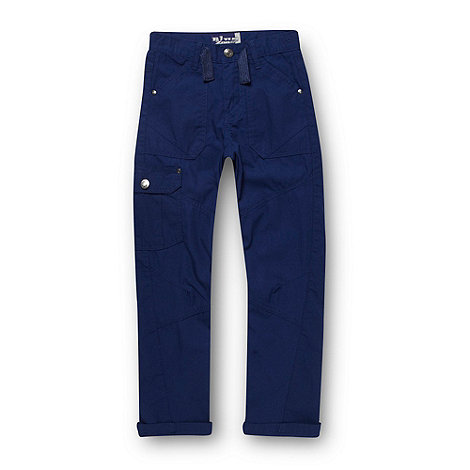 bluezoo - Boy+s navy cargo trousers