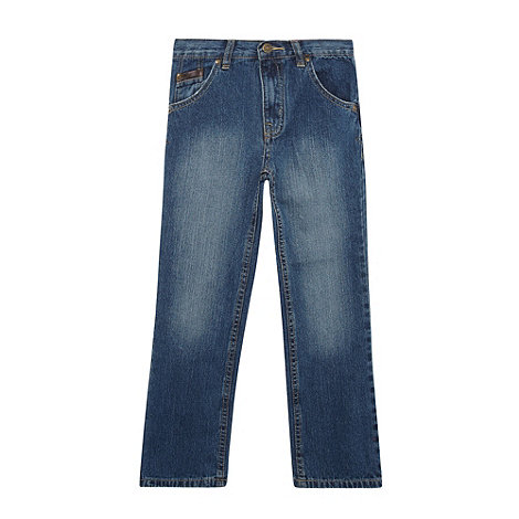 bluezoo - Boy+s blue denim regular fit jeans