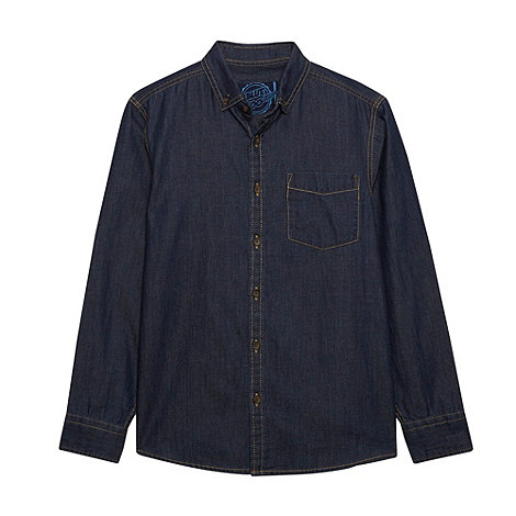 bluezoo - Boy+s blue denim shirt