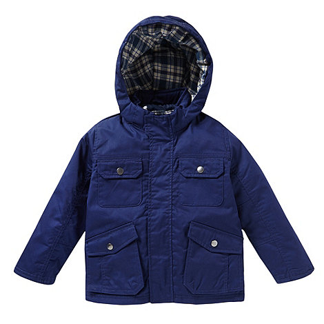 bluezoo - Boy+s blue fisherman jacket