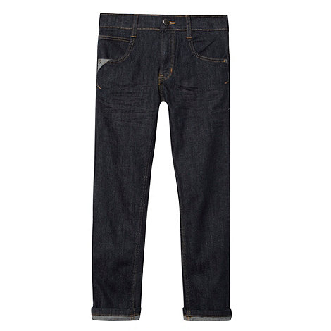 bluezoo - Boy+s dark blue skinny jeans