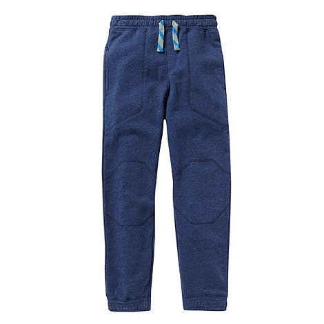 bluezoo - Boy+s navy cuffed jogging bottoms