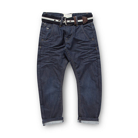 J by Jasper Conran - Designer boy+s blue carrot leg jeans