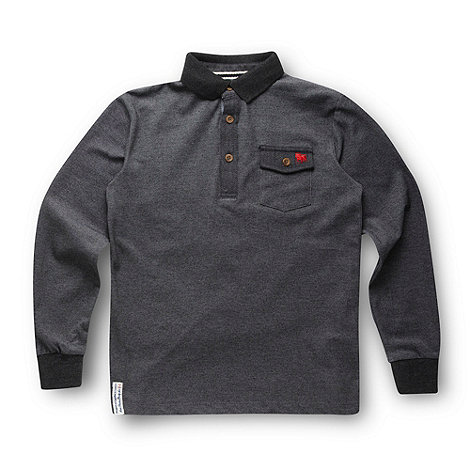 J by Jasper Conran - Designer boy+s grey polo shirt