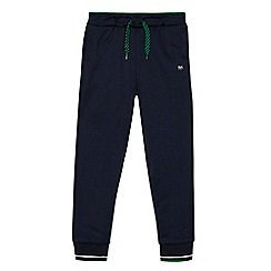 J by Jasper Conran - Boys' navy cuffed jogging bottoms