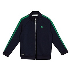 J by Jasper Conran - Boys' navy zip through jacket