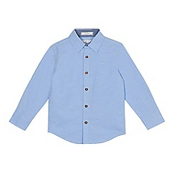 J by Jasper Conran - Boys' blue long sleeve oxford shirt