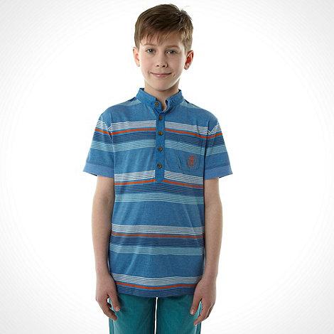 RJR.John Rocha - Boy+s blue multistripe top
