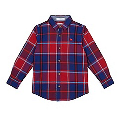 J by Jasper Conran - Boys' red and blue checked shirt