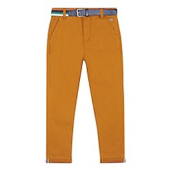 J by Jasper Conran - Boys' tan slim fit chinos