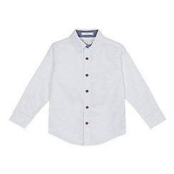 J by Jasper Conran - Boys' white long sleeved Oxford shirt