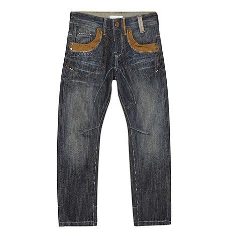 RJR.John Rocha - Boy+s blue trimmed jeans