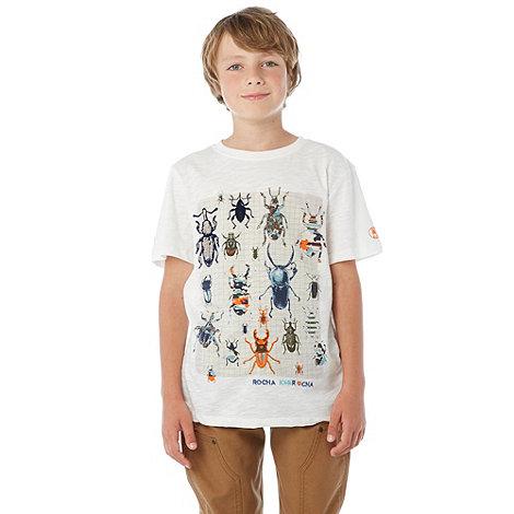 RJR.John Rocha - Designer boy+s cream bug printed t-shirt