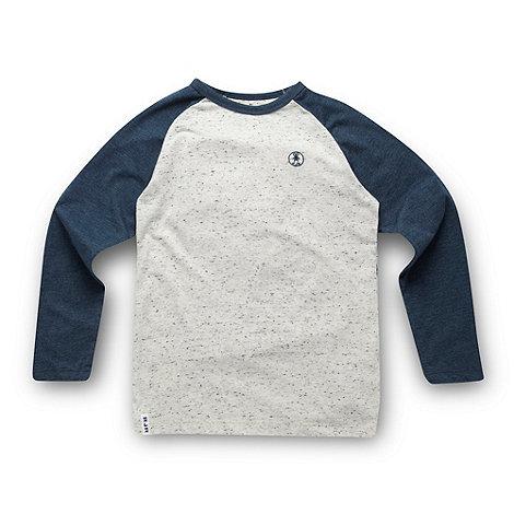 RJR.John Rocha - Designer boy+s blue raglan top