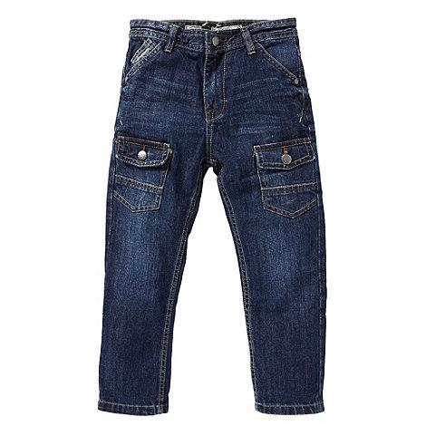 RJR.John Rocha - Boy+s blue carrot panel jeans