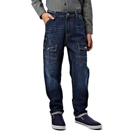 RJR.John Rocha - Boy+s blue carrot jeans