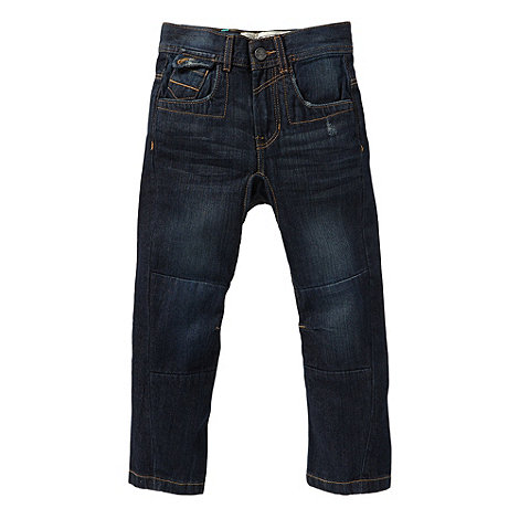 RJR.John Rocha - Boy+s blue carrot panel jeans