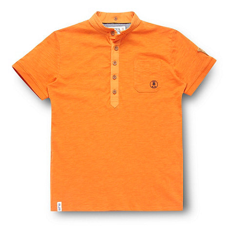RJR.John Rocha - Designer boy+s orange polo shirt