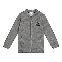 bluezoo - Boys' grey bomber jacket