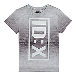bluezoo - Boys' grey reflective print t-shirt