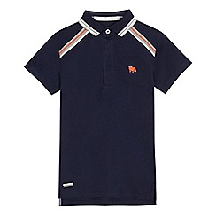 J by Jasper Conran - Boys' navy polo shirt