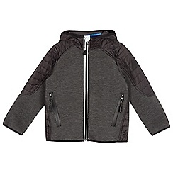 bluezoo - Boys' black quilted sports jacket