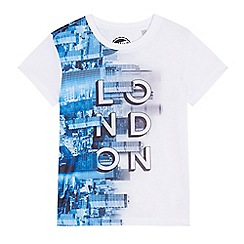 bluezoo - Boys' blue London t-shirt