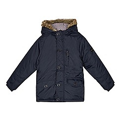 Ben Sherman - Boys' navy padded coat