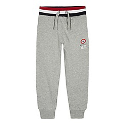 Ben Sherman - Boys' grey target print jogging bottoms
