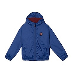 Ben Sherman - Boys' blue logo applique jacket