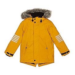 Mantaray - Boys' yellow 'Thinsulate' coat