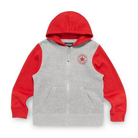 Converse - Boy+s red contrast jacket