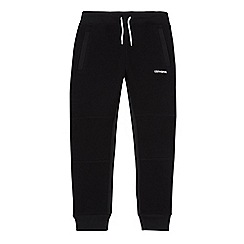 Converse - Boys' black logo jogging bottoms