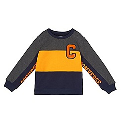 Converse - Boys' multicoloured colour block sweater