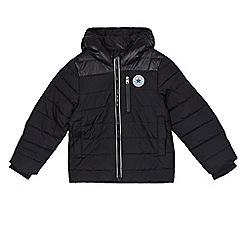 Converse - Boys' black water resistant jacket