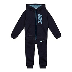 Nike - Boys' blue 'Dri-Fit' zip through hoodie and jogging bottoms set