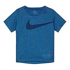 Nike - Boys' blue 'Dri-Fit' t-shirt