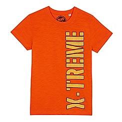 bluezoo - Boys' orange 'X-treme' t-shirt