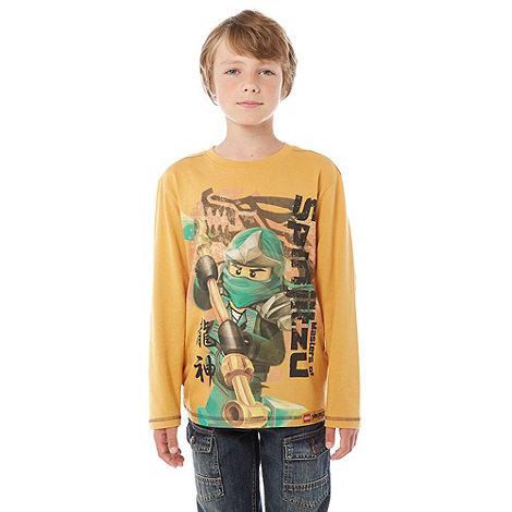 LEGO - Boy+s orange +Ninjango+ t-shirt