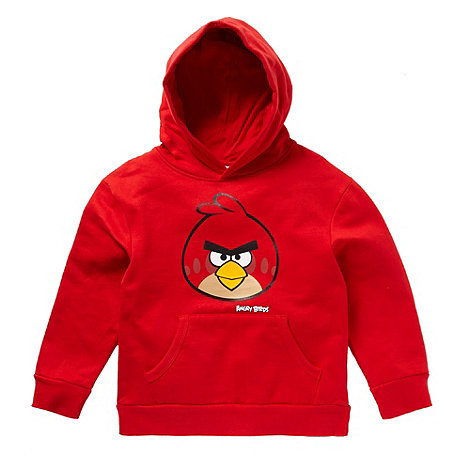 Angry birds - Boy+s red +Angry Birds+ hoodie