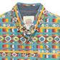 Silver Eight - Boy+s multi aztec printed shirt Alternative 2