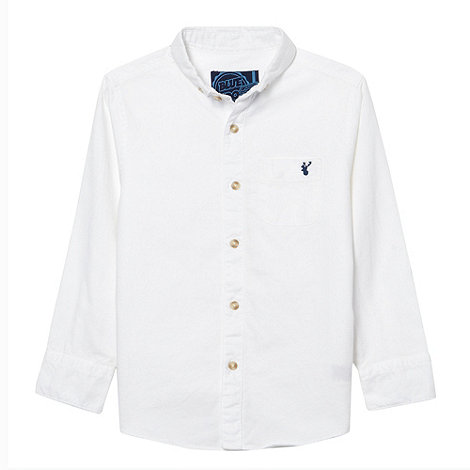 bluezoo - Boy+s white oxford shirt