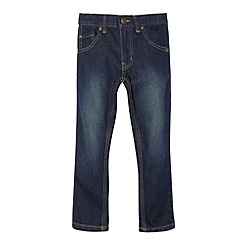 bluezoo - Boy's dark blue skinny jeans