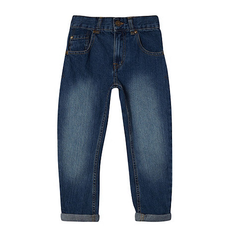 bluezoo - Boy+s blue carrot leg jeans