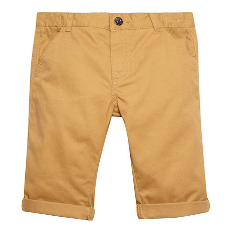 bluezoo - Boy+s tan chino shorts