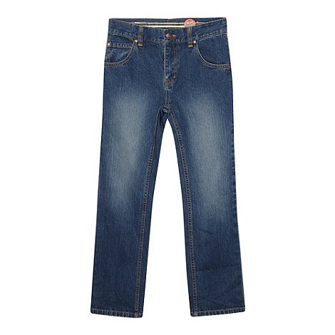 bluezoo - Boy+s blue regular fit jeans