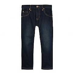 bluezoo - Boy's dark blue regular fit  jeans